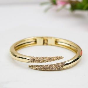 Alexis Bittar Miss Havisham Bypass Pave Bangle